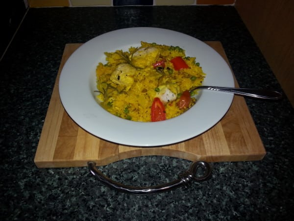Bodybuilding Foods: Tasty, Quick and Easy Paella