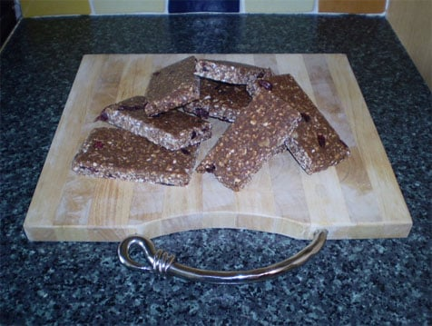 Home-Made Bodybuilding Protein Bars
