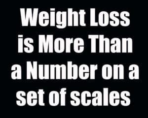 WeightLossisMoreThanaNumberonasetofscales