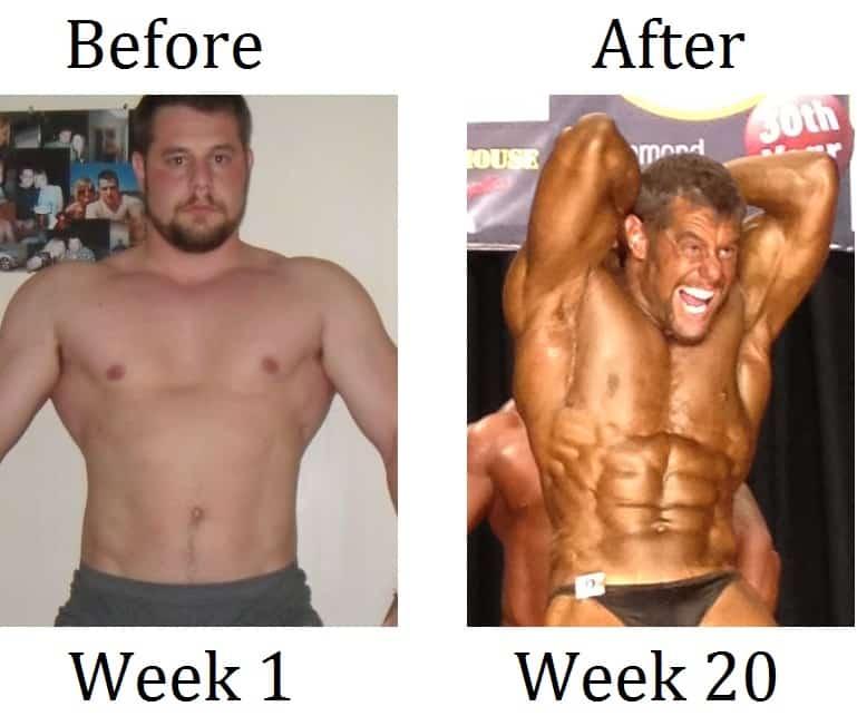 Extreme weight loss macros